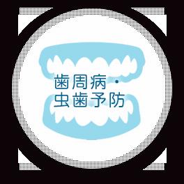 歯周病・虫歯予防